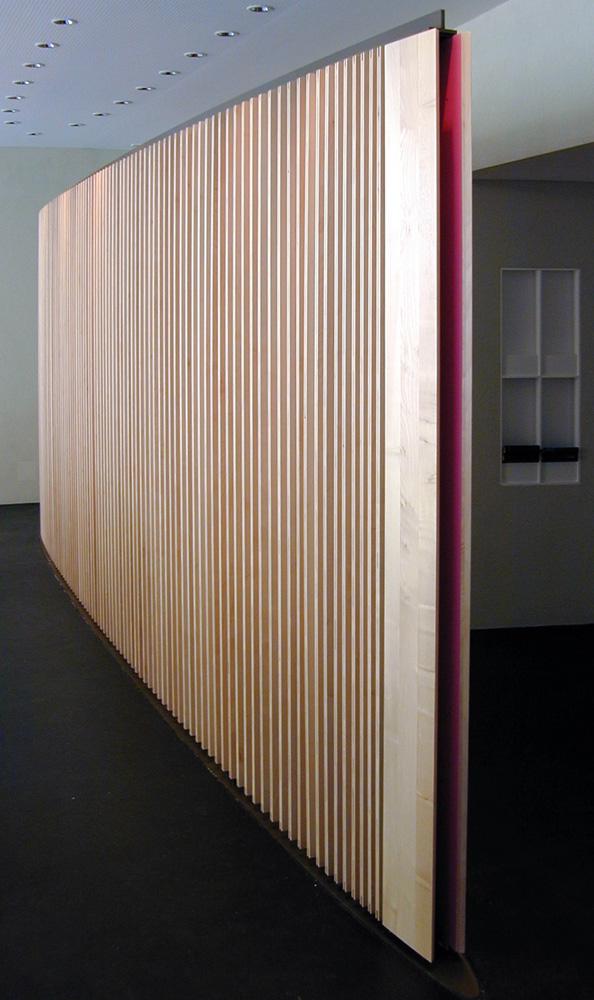 lamellenwand galerie architektur und design. Black Bedroom Furniture Sets. Home Design Ideas